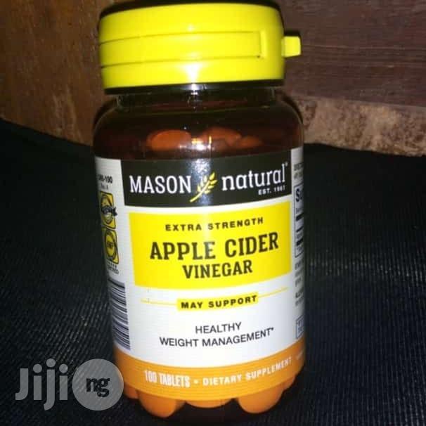 Mason Natural Apple Cider Extra Strength Vinegar Tablets 100 Tablets