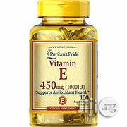 Puritan's Pride Vitamin E 450mg, 100softgels | Vitamins & Supplements for sale in Lagos State