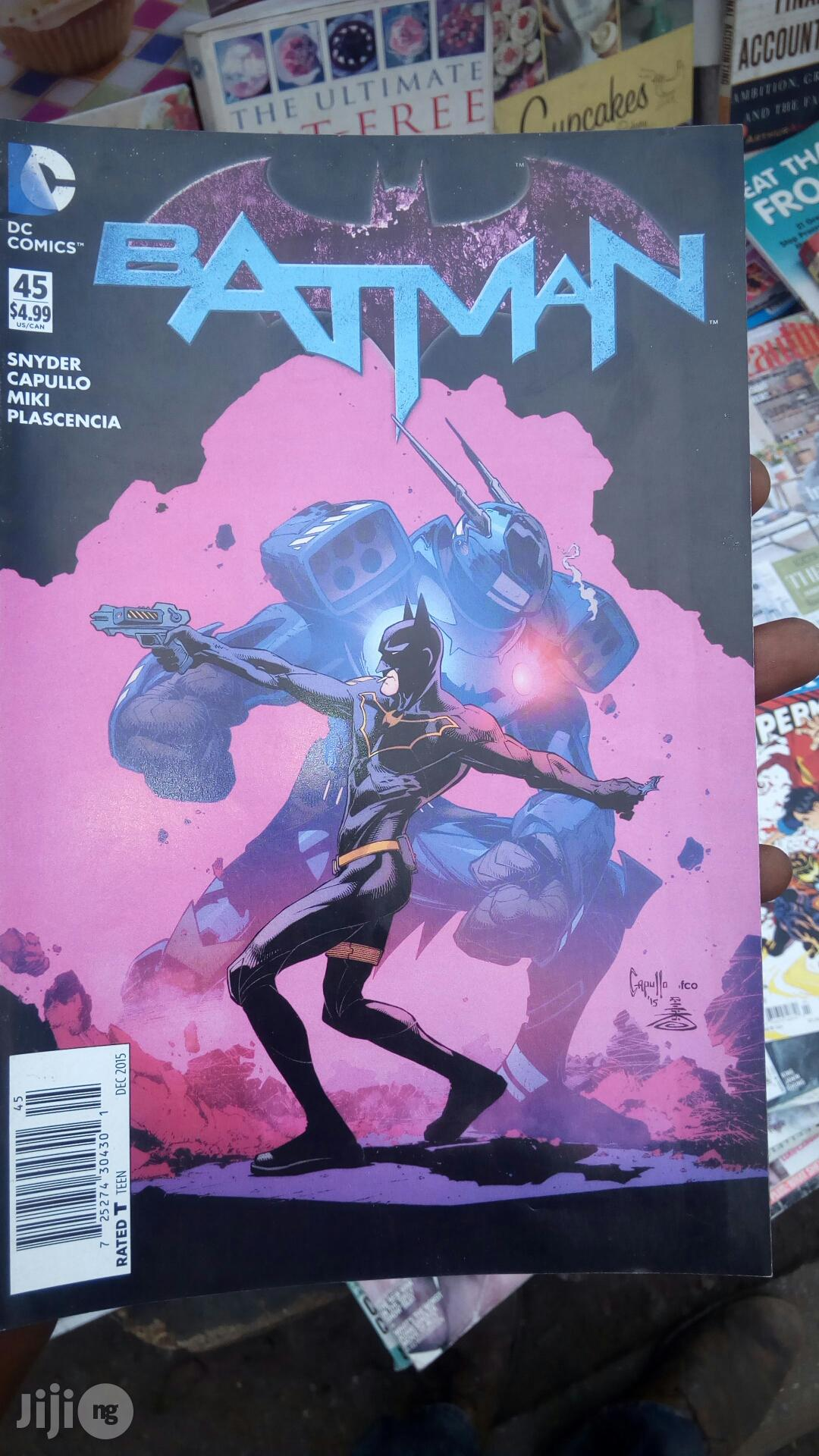 DC Comic, Of Spider And Batman | Books & Games for sale in Yaba, Lagos State, Nigeria