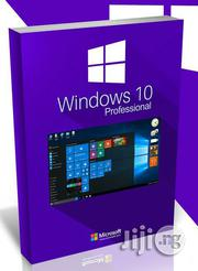 Windows 10 PRO Or Window Home Single Language 32/64bit DVD Permanent | Software for sale in Lagos State, Ikeja