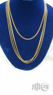 Pure Stainless Steel Gold Chain and Necklace | Jewelry for sale in Lagos State, Lekki Phase 2