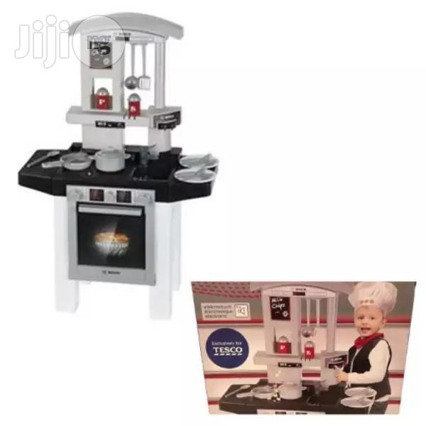 Bosch Toy Kitchen Cooking Station With Electronic Sound