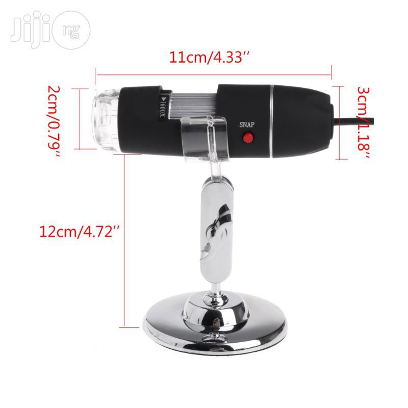 1000X 8leds USB Digitalmicroscope Endoscope Magnifier Camera