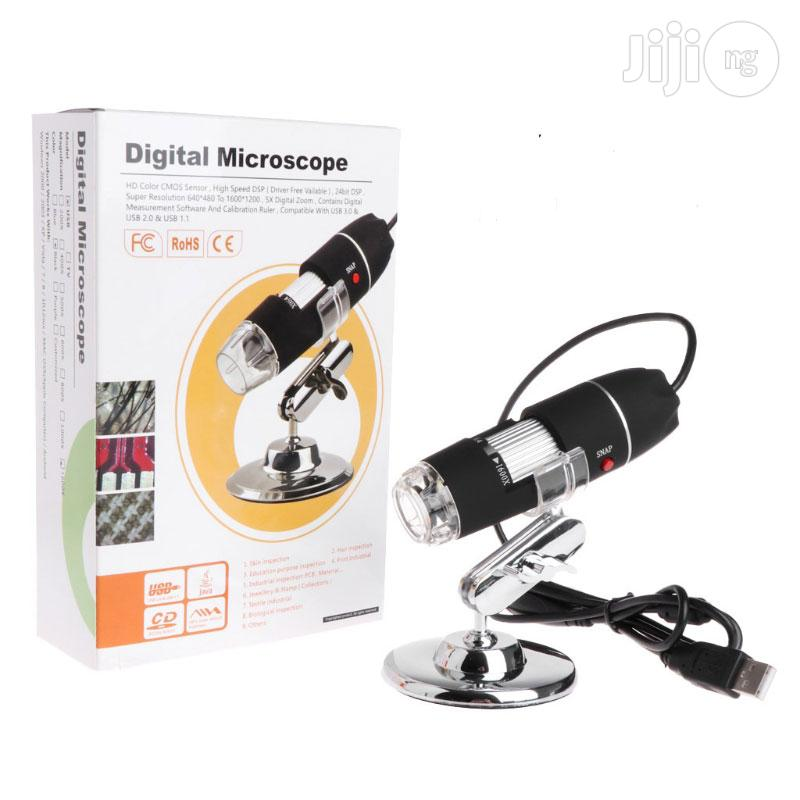 1000X 8leds USB Digitalmicroscope Endoscope Magnifier Camera   Medical Equipment for sale in Amuwo-Odofin, Lagos State, Nigeria