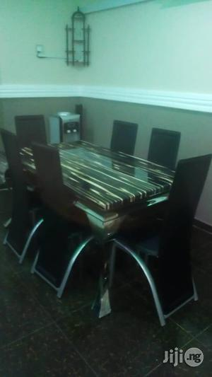 Marble Dinning Table Set   Furniture for sale in Lagos State