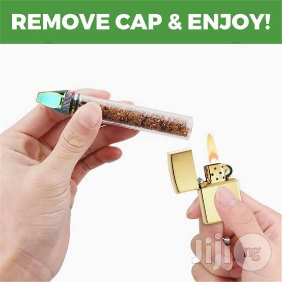Twisty Glass Blunt For Dry Herbs | Tools & Accessories for sale in Ikeja, Lagos State, Nigeria