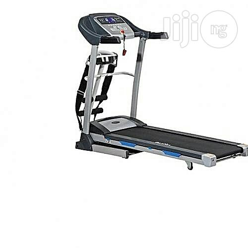 Archive: American Fitness 2.5 Hp Threadmill With Massager and Dumbbell