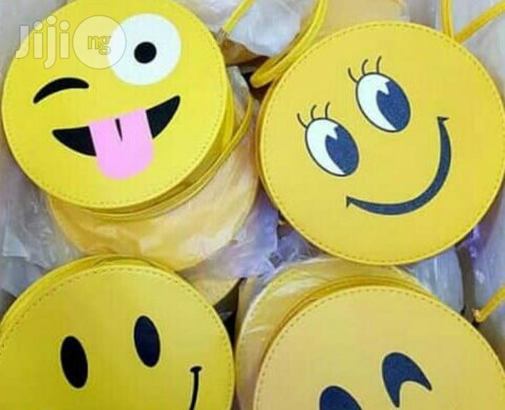 Emoji Smiley Trendy Bags