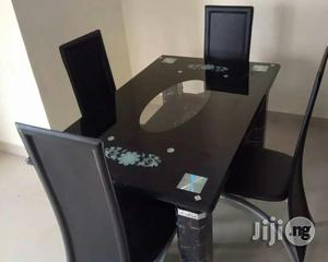 Classic Dining Table by Four Seater | Furniture for sale in Lagos State, Ifako-Ijaiye