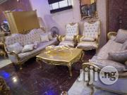 Royal Turkish Sofa Chair With Center Table and Side Stools   Furniture for sale in Lagos State, Ajah