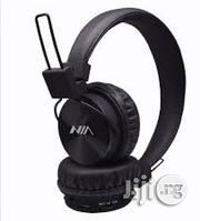NIA X3 Wireless Bluetooth Headphone. | Headphones for sale in Lagos State, Ikeja
