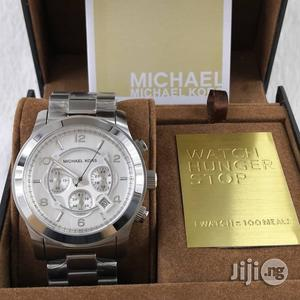 Michael Kors Stainless Steel Chain Watch | Watches for sale in Lagos State, Surulere