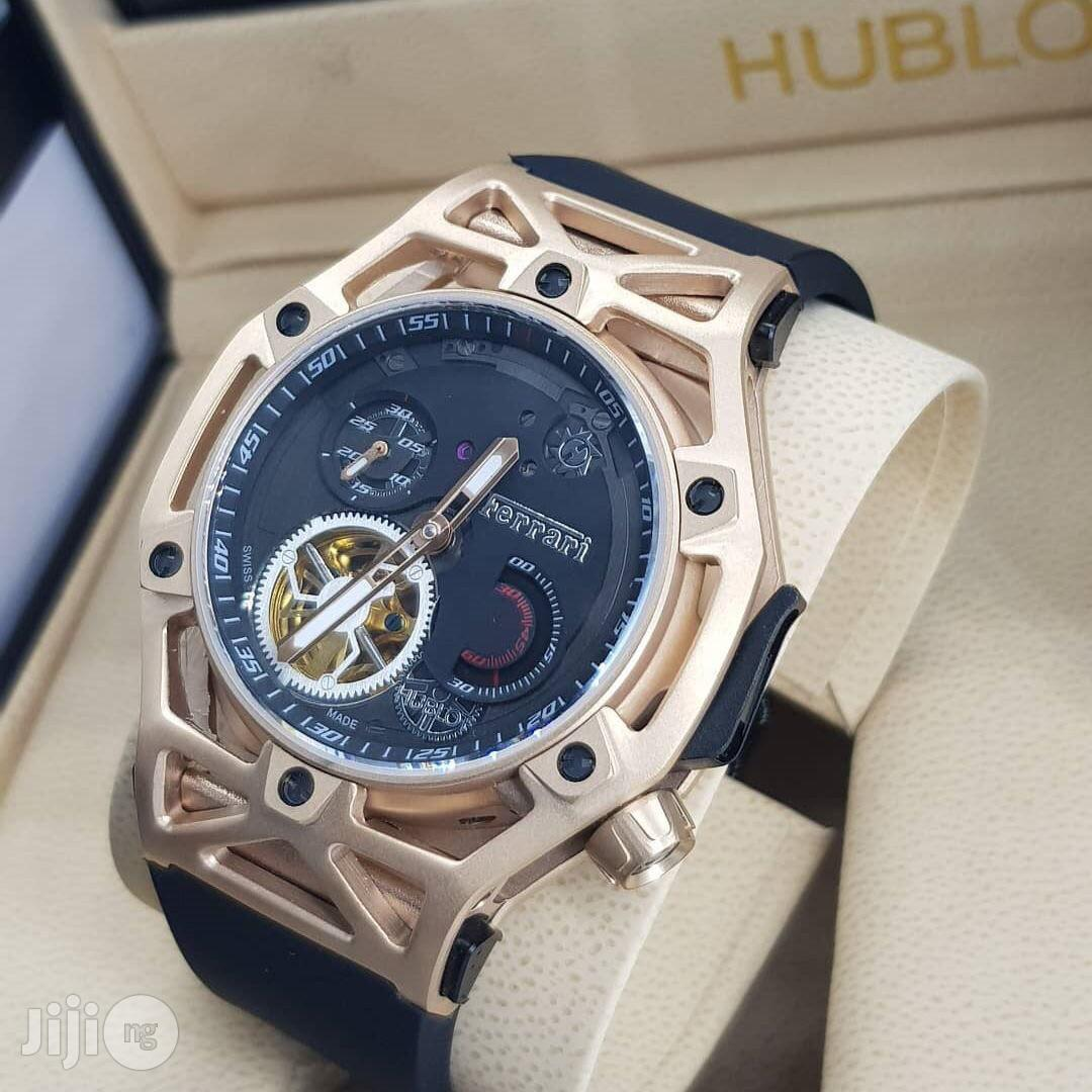Hublot Ferrari Quality Rubber Strap Watch