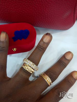 Italian Gold Set of Wedding Ring - Couple | Wedding Wear & Accessories for sale in Lagos State, Ikeja