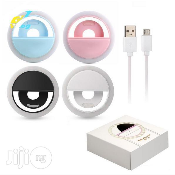 Rechargeable,Portable Detachable Selfie Ring LED Light | Accessories & Supplies for Electronics for sale in Surulere, Lagos State, Nigeria