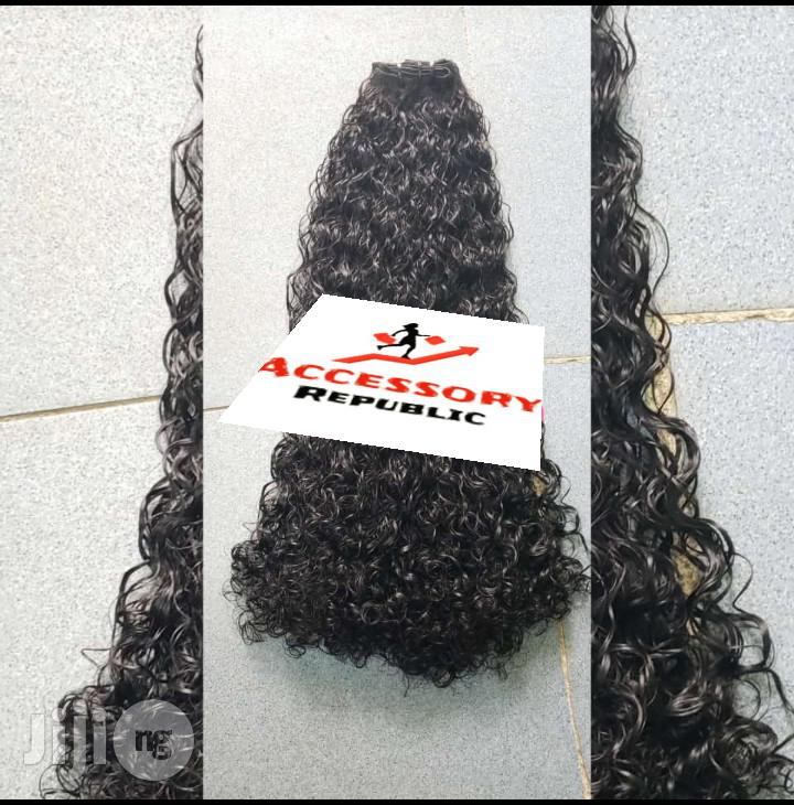 Water Curls Human Hair Extensions | Health & Beauty Services for sale in Ajah, Lagos State, Nigeria
