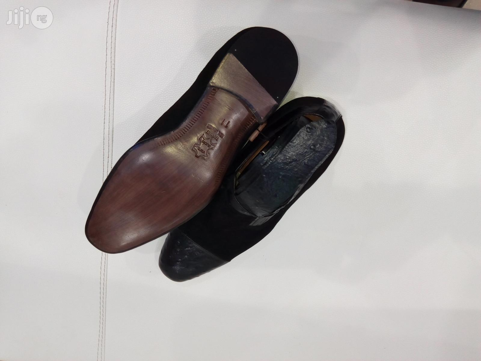 Target Designer's Men's Shoe With Leather Belt | Shoes for sale in Amuwo-Odofin, Lagos State, Nigeria