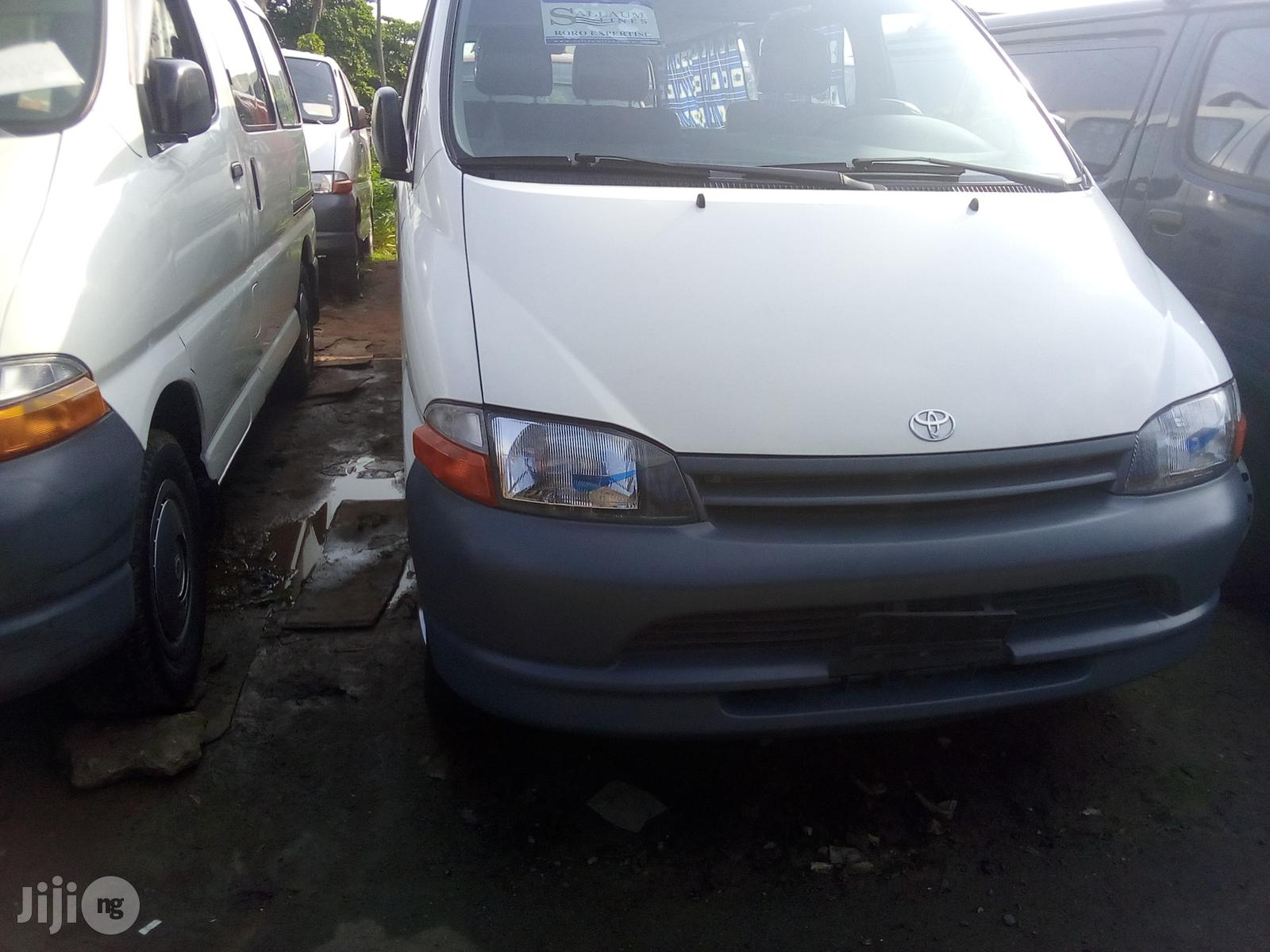 Toyota Hiace 1997 White | Buses & Microbuses for sale in Apapa, Lagos State, Nigeria