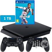 Sony Playing S4 1TB Console With Fifa 19 | Video Game Consoles for sale in Lagos State, Ikeja