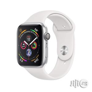 Apple Watch Series 4 GPS 44mm White Band | Smart Watches & Trackers for sale in Lagos State, Ikeja