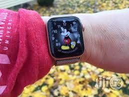 Apple Iwatch Series 4 - 40mm GPS - Gold | Smart Watches & Trackers for sale in Ikeja, Lagos State, Nigeria