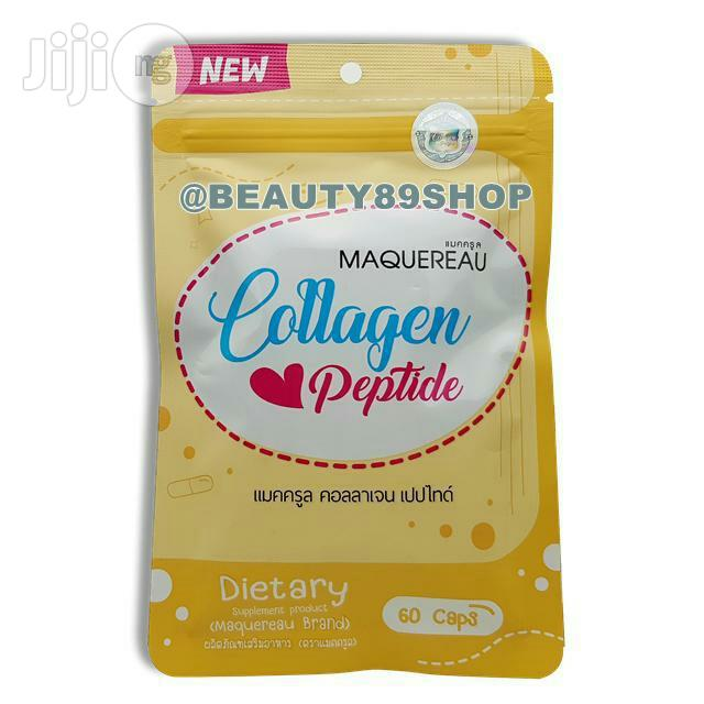 Archive: Maquereau Collagen Peptide Super Whitening Bright Anti Aging -60 Caps