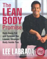 The Lean Body Promise, Hard Cover By Lee Labrada   Books & Games for sale in Lagos State, Surulere