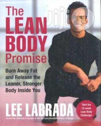 The Lean Body Promise, Hard Cover By Lee Labrada