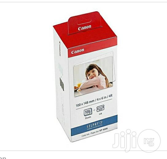 Canon Selphy CP Printer Photo Paper/Color Ribbon