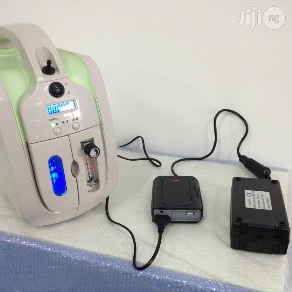 Oxygen Concentrator With Battrey Back Up