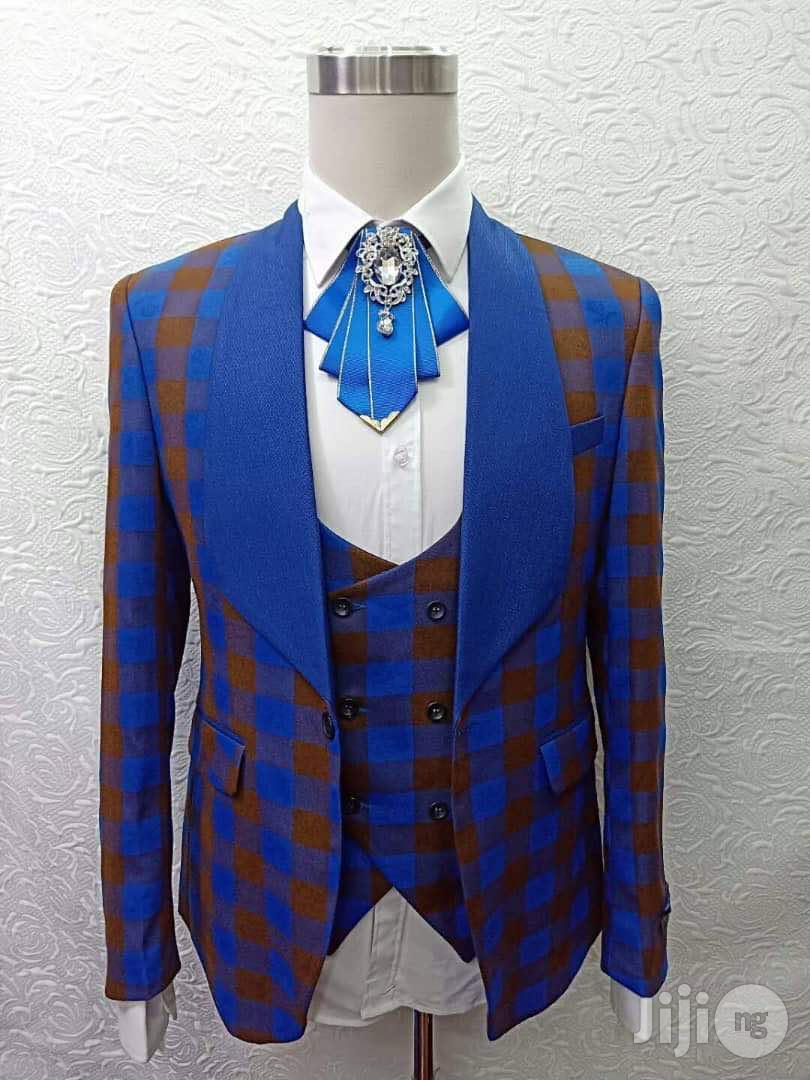 Italian Zanellato Fitted Suit