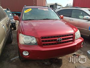 Toyota Highlander 2003 Red   Cars for sale in Lagos State, Apapa