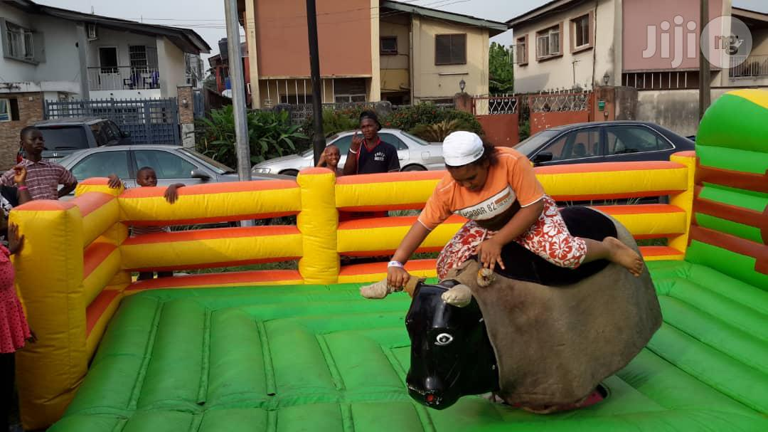 Bouncing Castles And Kids Bull Ride For Rent