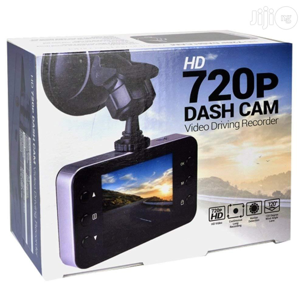 Automotive 720p HD Dashcam LCD Screen & Windshield Mounting | Photo & Video Cameras for sale in Ikeja, Lagos State, Nigeria