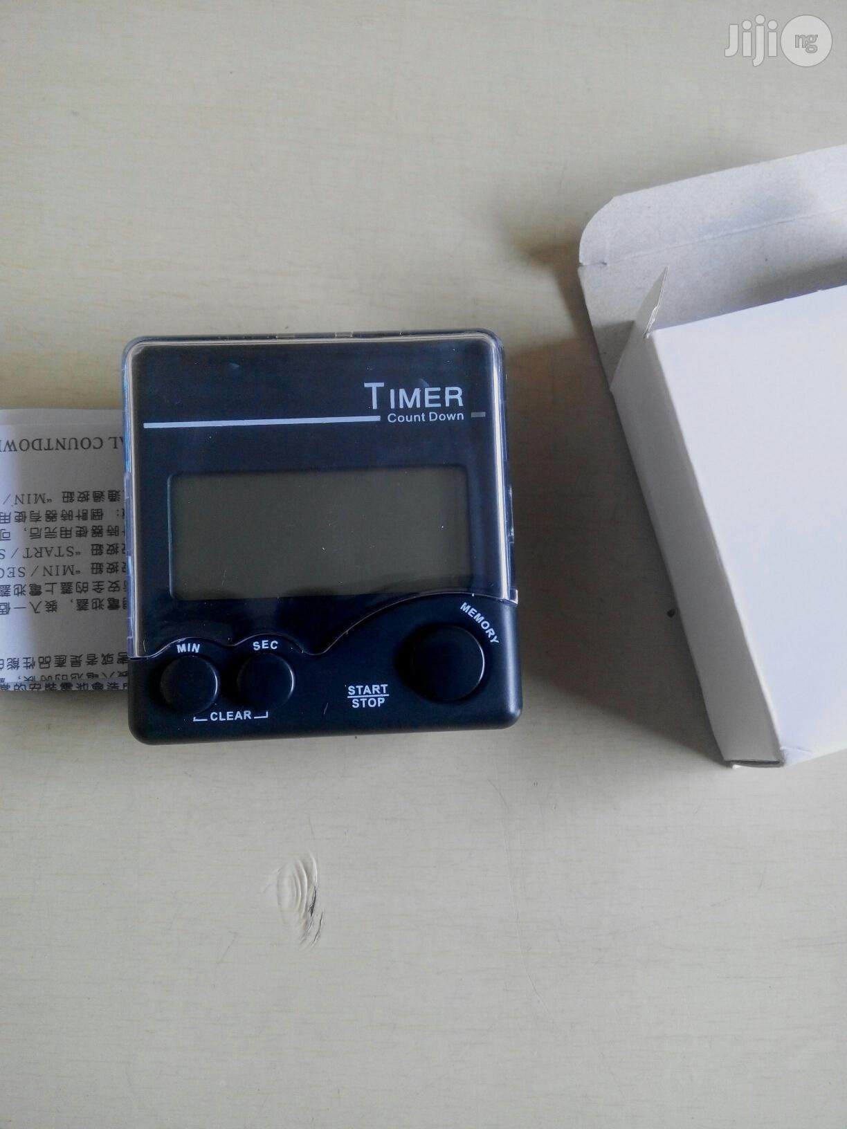 Digital Timer With Magnet | Medical Supplies & Equipment for sale in Port-Harcourt, Rivers State, Nigeria