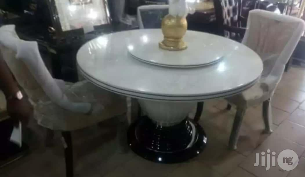 Archive: Best Quality 6-Seater Marble Dining Table With Six Strong Chairs