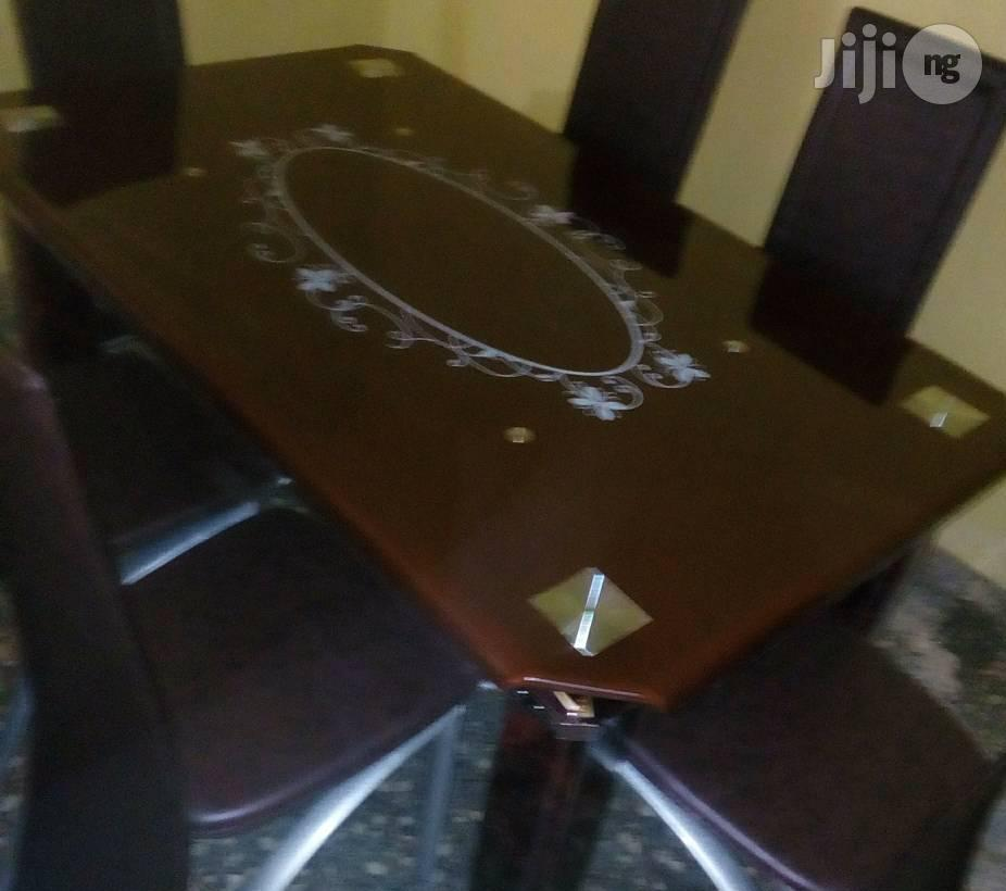 Quality 15mm Padded Glass Dining Table
