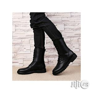 Men Genuine Leather High Cut Security Shoes   Shoes for sale in Lagos State, Ikeja