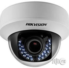 Hikvision DS-2CE56D0T-IRP 2MP 1080P HD Indoor Night Vision Dome Camera (White) | Security & Surveillance for sale in Lagos State, Ikeja