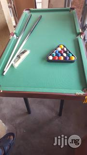 Mobile Foldable Snooker Table With Accessories | Sports Equipment for sale in Rivers State, Port-Harcourt