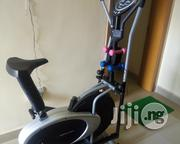 Indoor Exercise Bike With Dumbell | Sports Equipment for sale in Plateau State, Quaan Pan