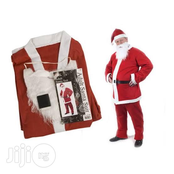 DELUXE 10 PIECE Santa Claus Suit With Bag | Clothing for sale in Amuwo-Odofin, Lagos State, Nigeria
