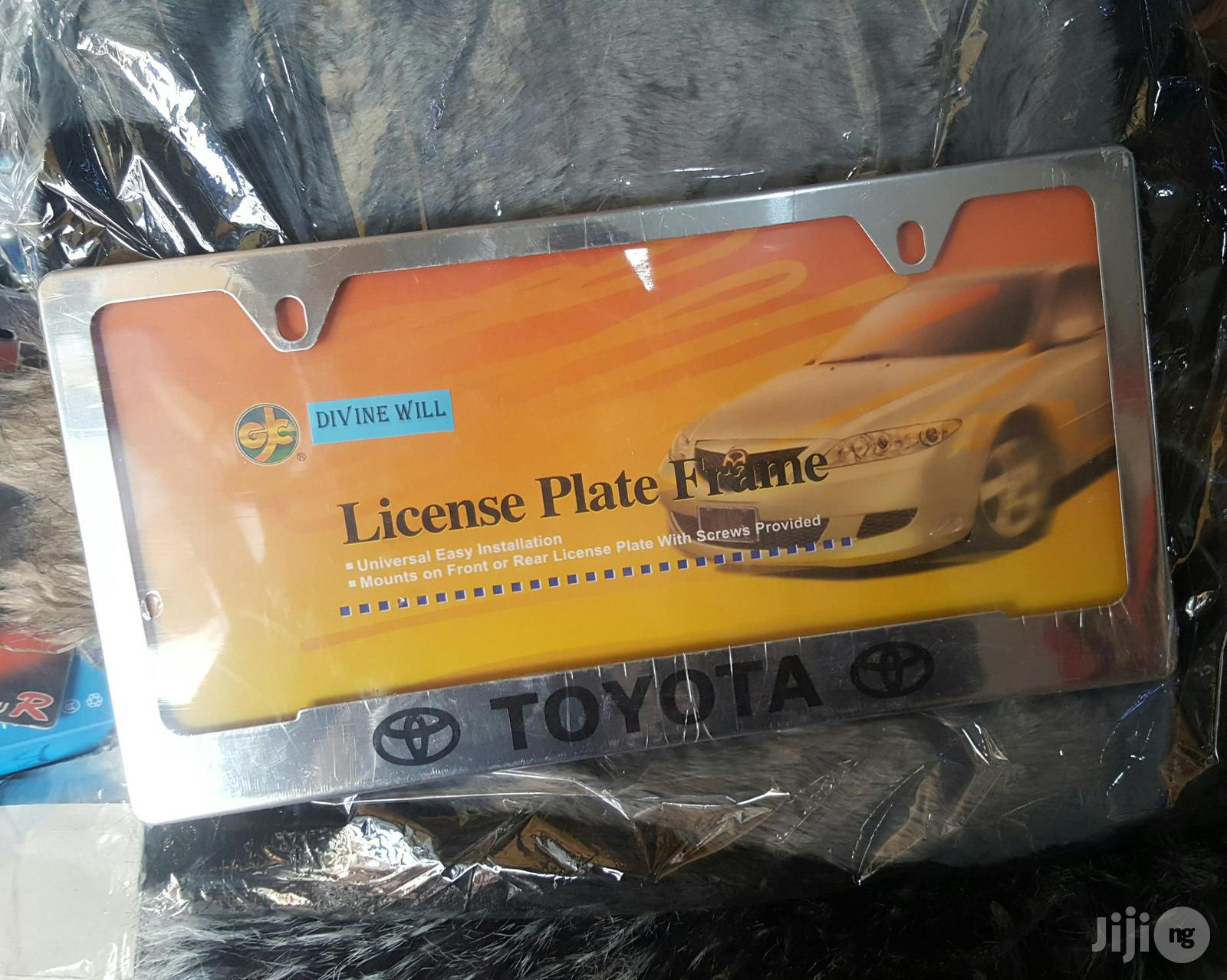 Plate Number Cover For All Cars