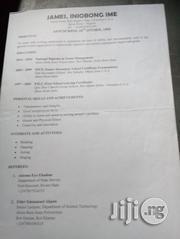 Advertising Marketing CV | Advertising & Marketing CVs for sale in Akwa Ibom State, Ukanafun