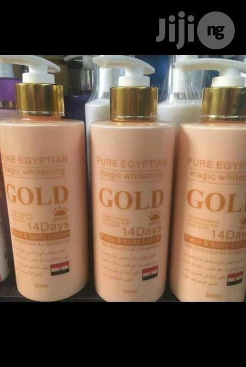 Pure Egyptian Gold Lotion