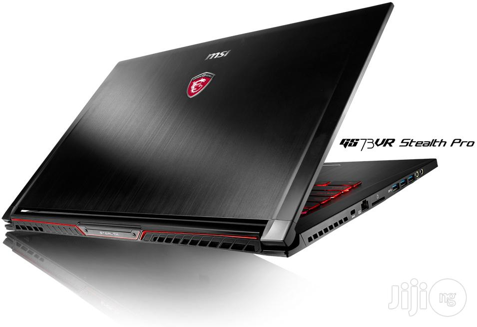 MSI Notebook Gaming System | Laptops & Computers for sale in Ikeja, Lagos State, Nigeria