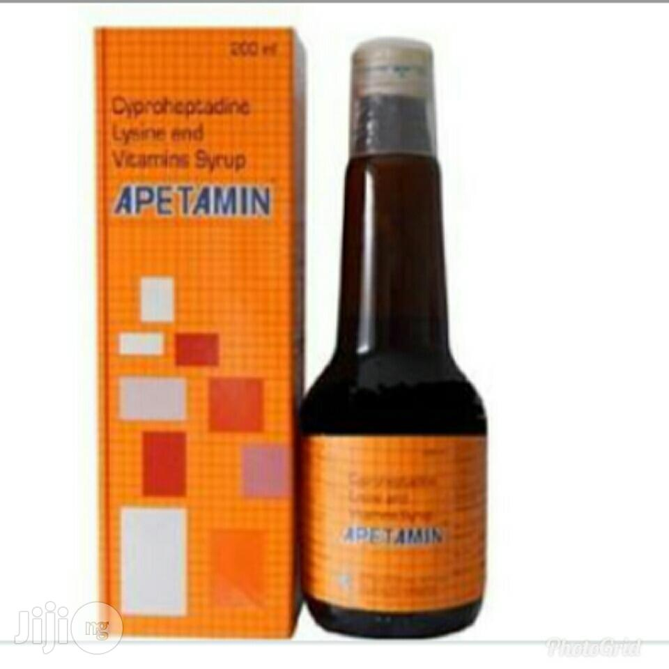 Archive: Apetamin Syrup