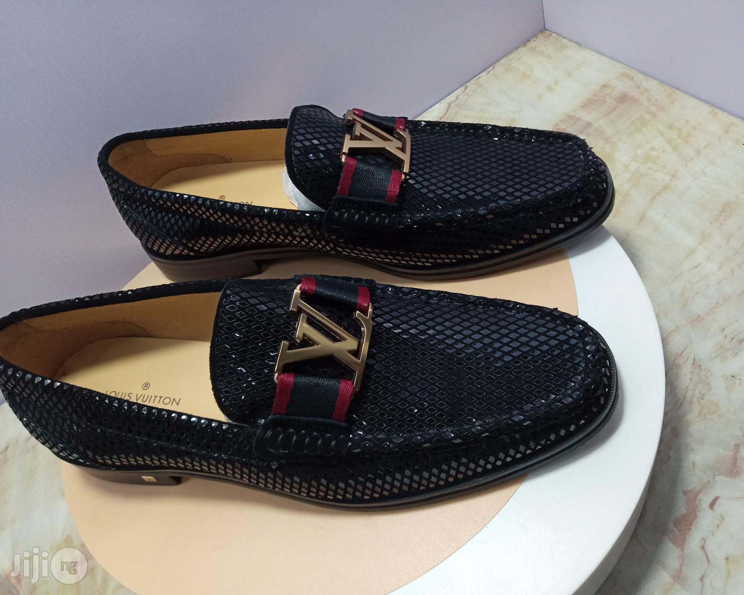 Quality Designer LV Loafers Available | Shoes for sale in Surulere, Lagos State, Nigeria