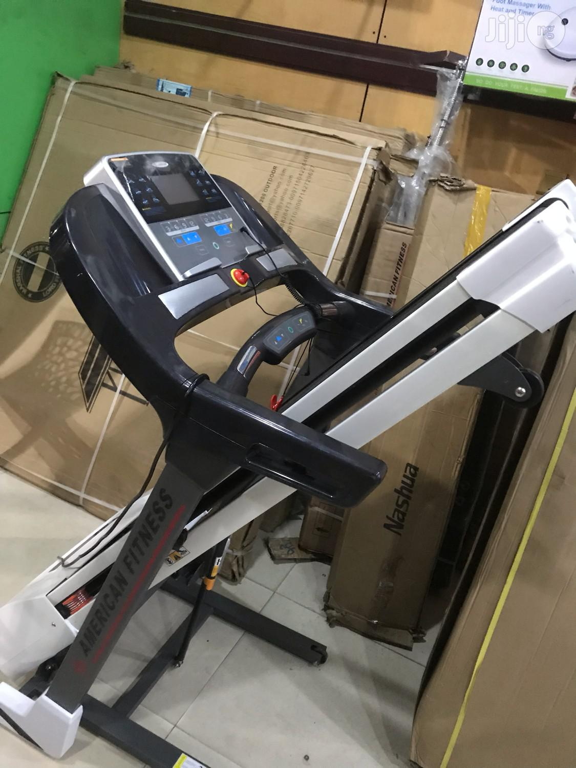 2.5hp Treadmill With Massager (American Fitness)