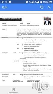 Nutritionist | Healthcare & Nursing CVs for sale in Akwa Ibom State, Mbo